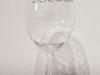 Siffror i silver att hänga på glaset